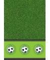 Voetbal thema decoratie tafelkleed