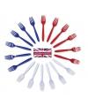 Vorken plastic Engelse kleuren