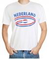 Feestartikelen t-shirt vlag Nederland