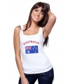 Australi� tanktop met Australiaanse vlag print voor dames