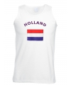 Holland tanktop met nederlandse vlag print
