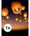Chinese wensballon wit 50 x 100 cm