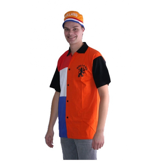 WK Polo shirt Holland oranje