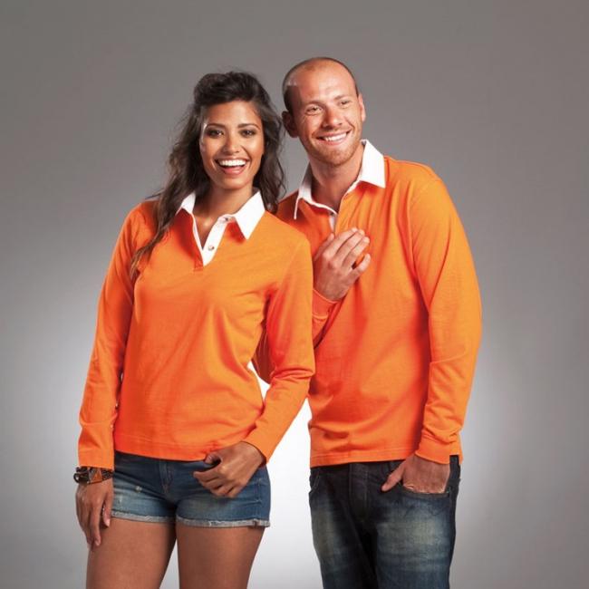 WK Oranje poloshirt voor heren