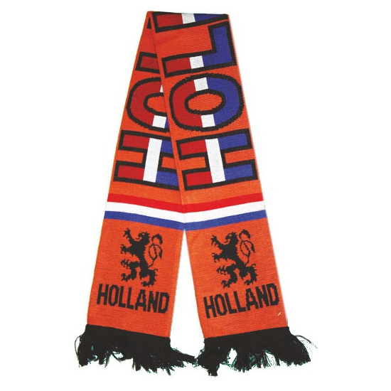 WK Luxe Holland supporters sjaal  140 cm