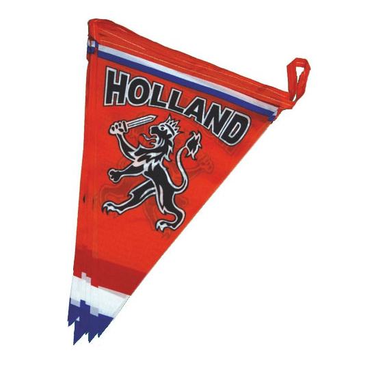 WK Oranje vlaggenlijn met leeuw