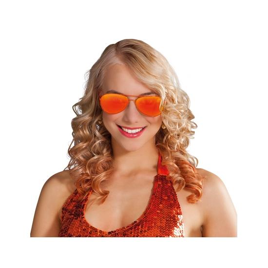 WK Oranje bril spiegelglas