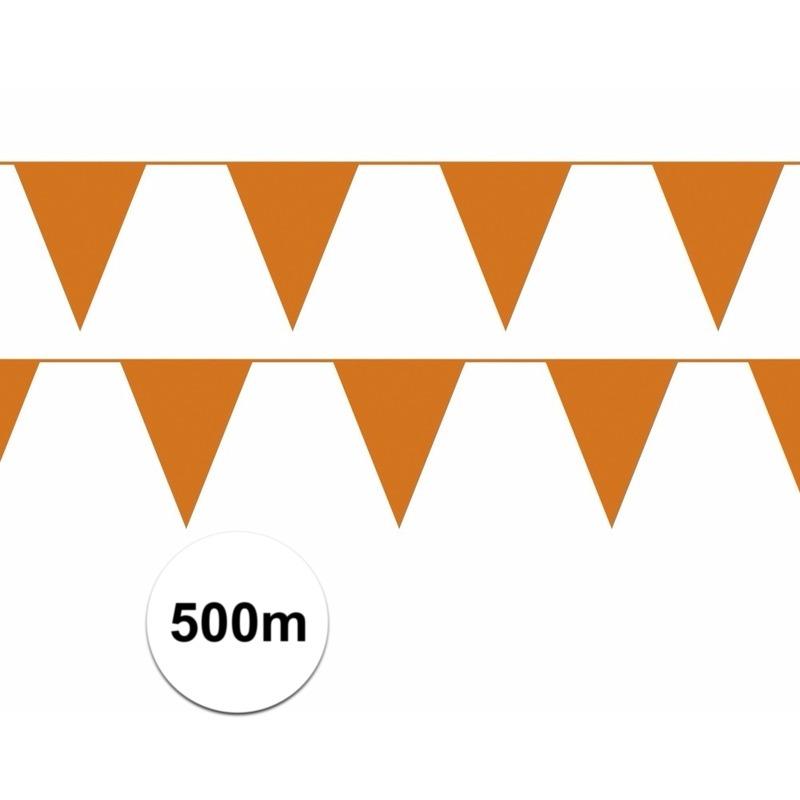 wk oranje vlaggenlijnen 500 meter