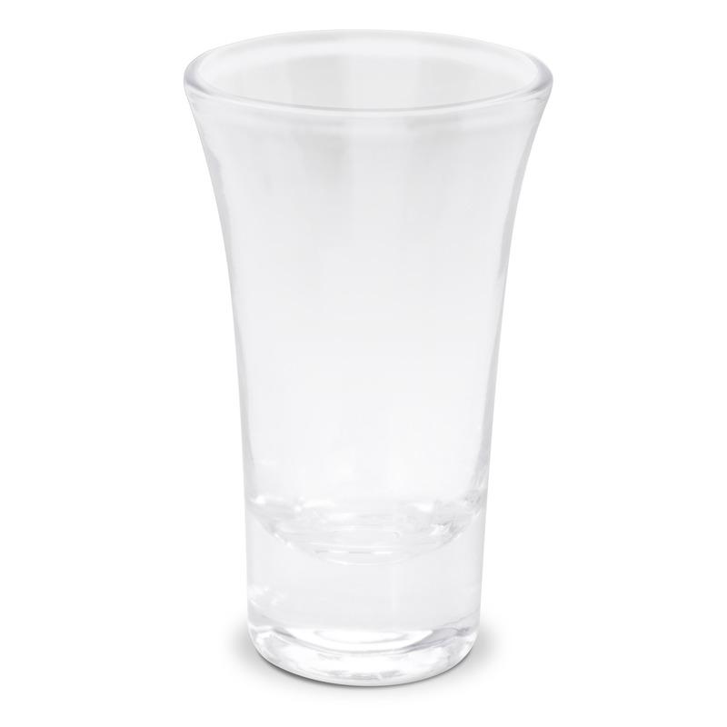 3x Borrel shotjes glazen 85ml