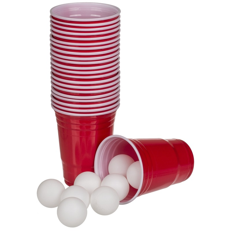 Beer pong drankspel-drinkspel 37 delig
