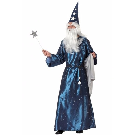 Carnavalskleding Fantasy en Sprookjes kostuums Tovenaars kleding