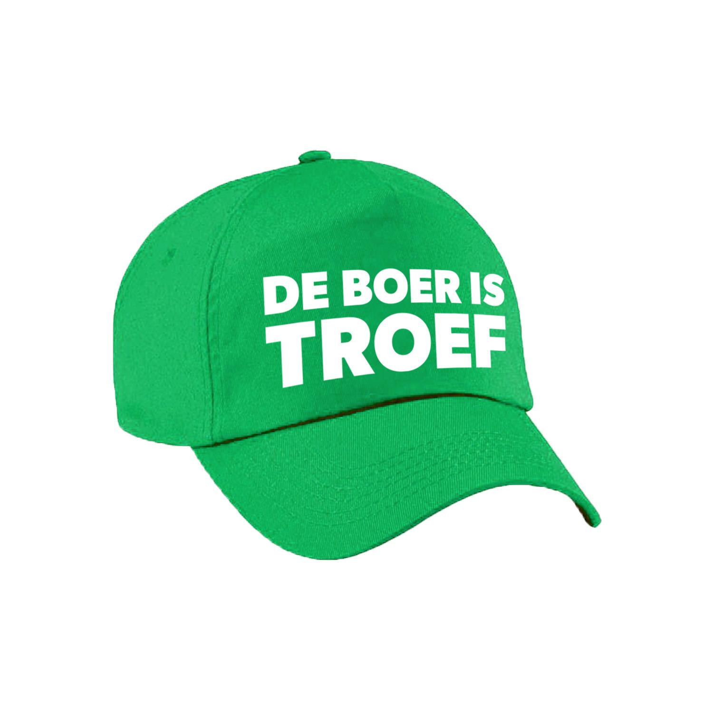 Boer is troef festival pet groen volwassenen