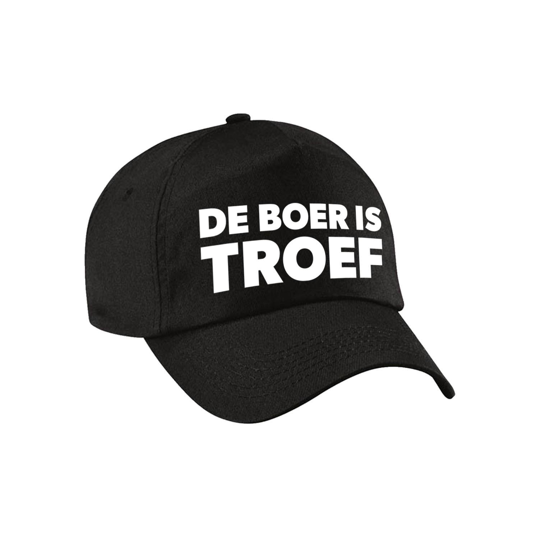 Boer is troef festival pet zwart volwassenen