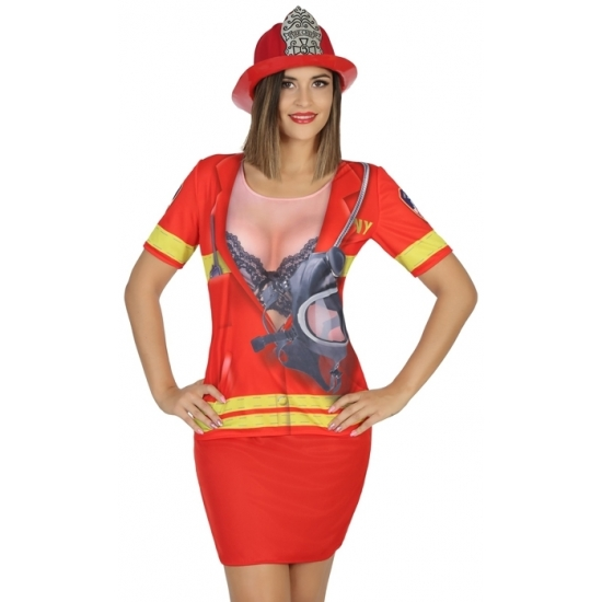 Carnavalskleding Beroepen kostuums Brandweer kleding