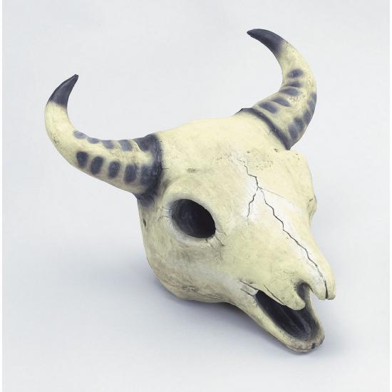 Decoratieve koeien schedel