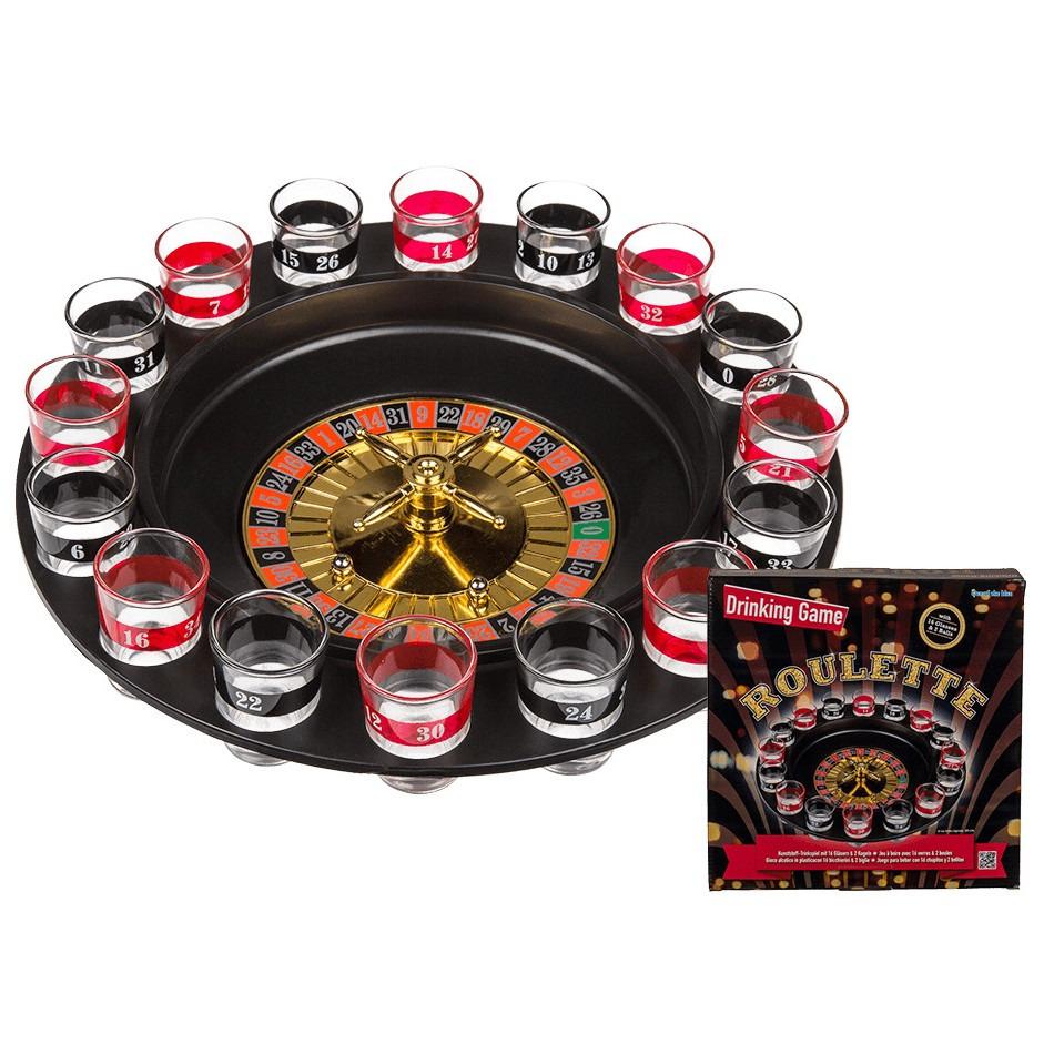 Drankspel-drinkspel shot roulette 30 cm