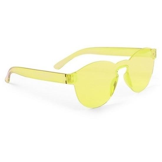 9fe4675cb393e7 Gele verkleed zonnebril voor volwassenen in oranje artikelen winkel ...