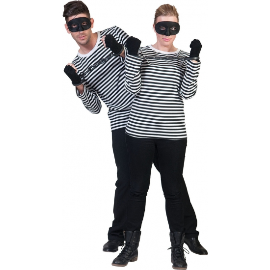 Carnavalskleding Beroepen kostuums Boeven kleding