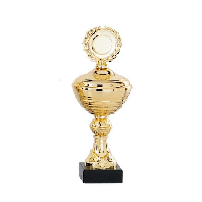 Gouden trofee-prijs beker 22 cm