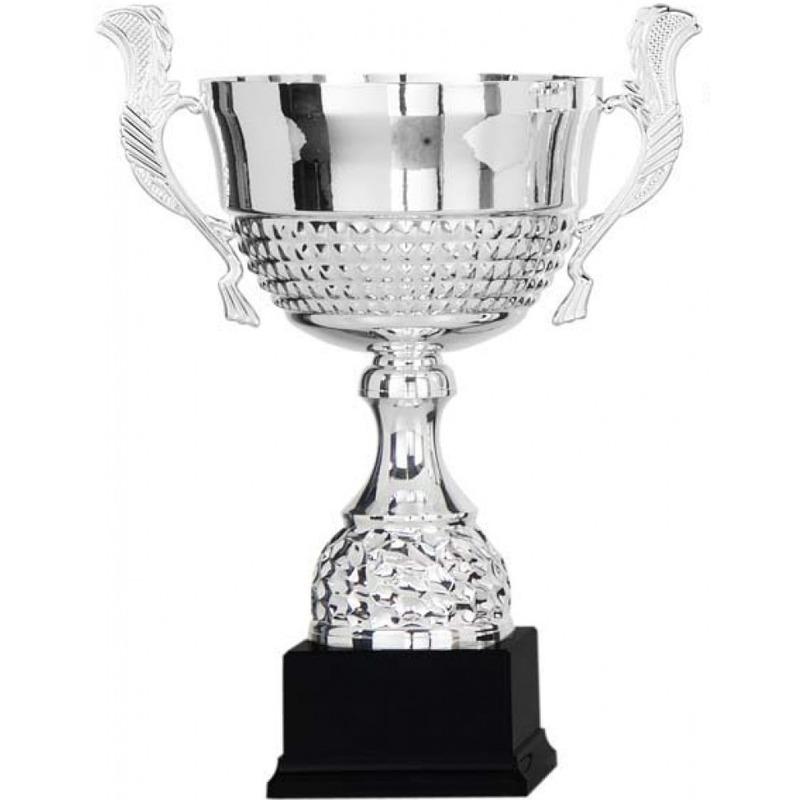 Grote zilveren trofee-prijs beker 36 cm