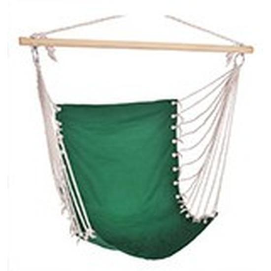 Hangstoel-hangende stoel groen 100 x 60 cm