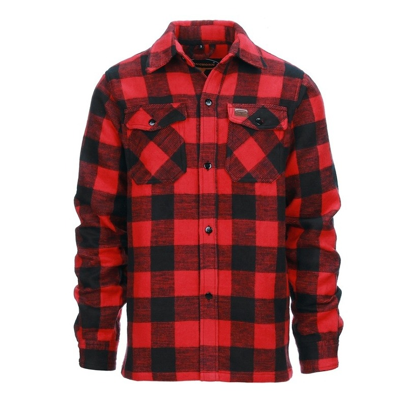 Heren houthakkers blouse