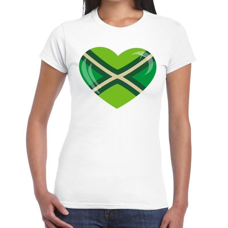 I love Achterhoek festival t-shirt wit dames