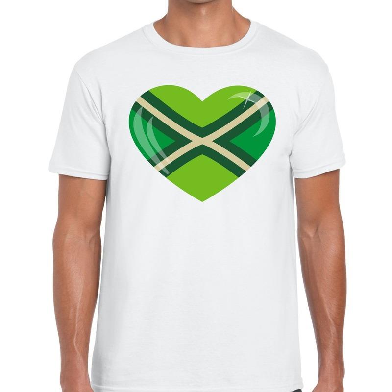 I love Achterhoek festival t-shirt wit heren