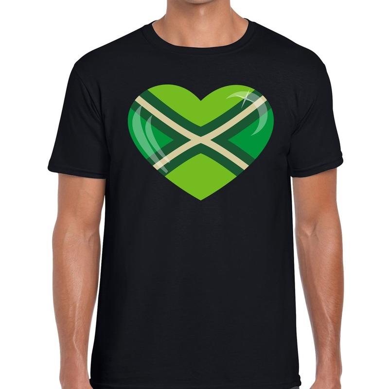 I love Achterhoek festival t-shirt zwart heren