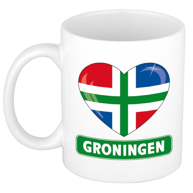 I love gemeente Groningen mok / beker 300 ml