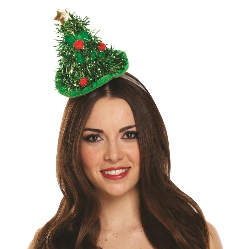 Kerst diadeem met kerstboom