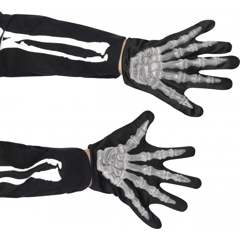 Kinder handschoenen skelet