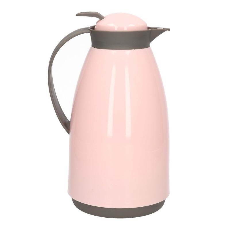 Koffiekan-isoleerkan 1 liter roze
