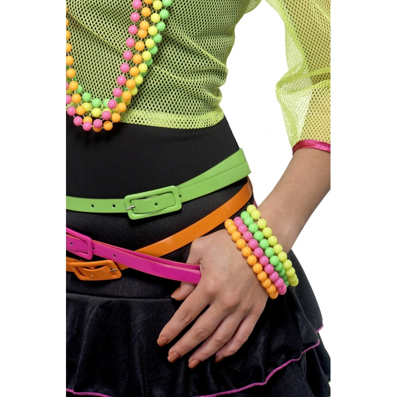 Kralen armbandjes in kleurtjes 3x