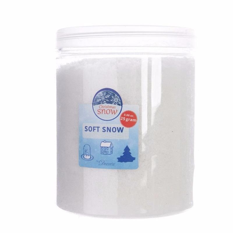Kunstsneeuw- nepsneeuw in pot 75 gram