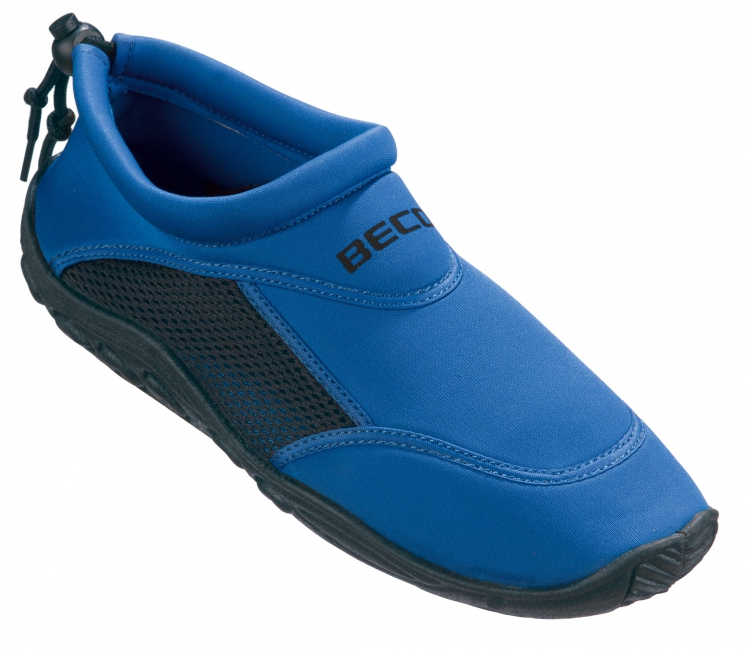 Neopreen blauwe waterschoenen anti-slip