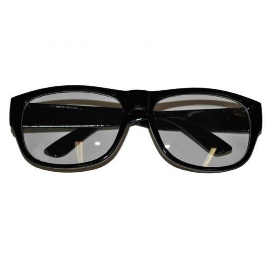 f0c42a71047af9 Nep bril met zwart montuur in oranje artikelen winkel Oranjeshopper