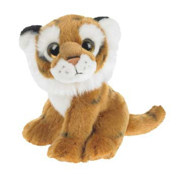 80da2a81e99173 Baby tijger knuffel 18 cm in oranje artikelen winkel Oranjeshopper