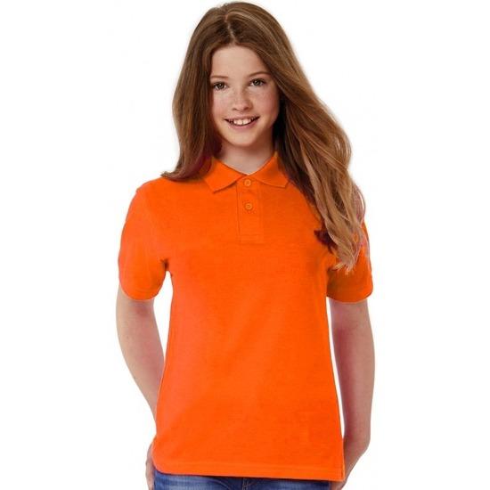 2c19a0f0c1c02c Polo shirt oranje voor meisjes in oranje artikelen winkel Oranjeshopper