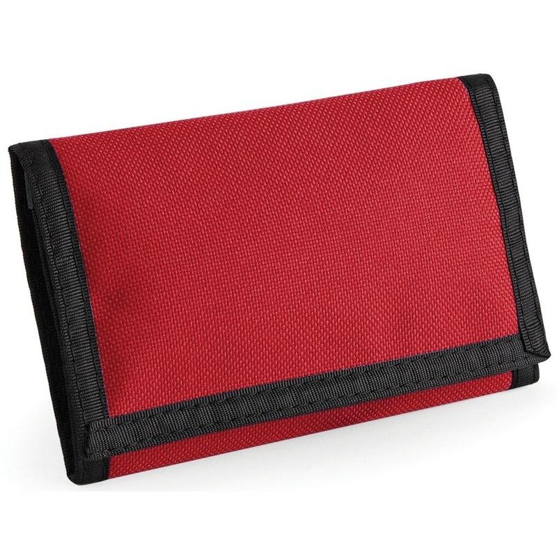 Portemonnee-portefeuille rood 13 cm