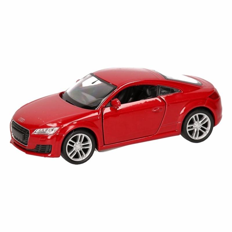 Speelgoed rode audi tt 2014 coupe auto 12 cm