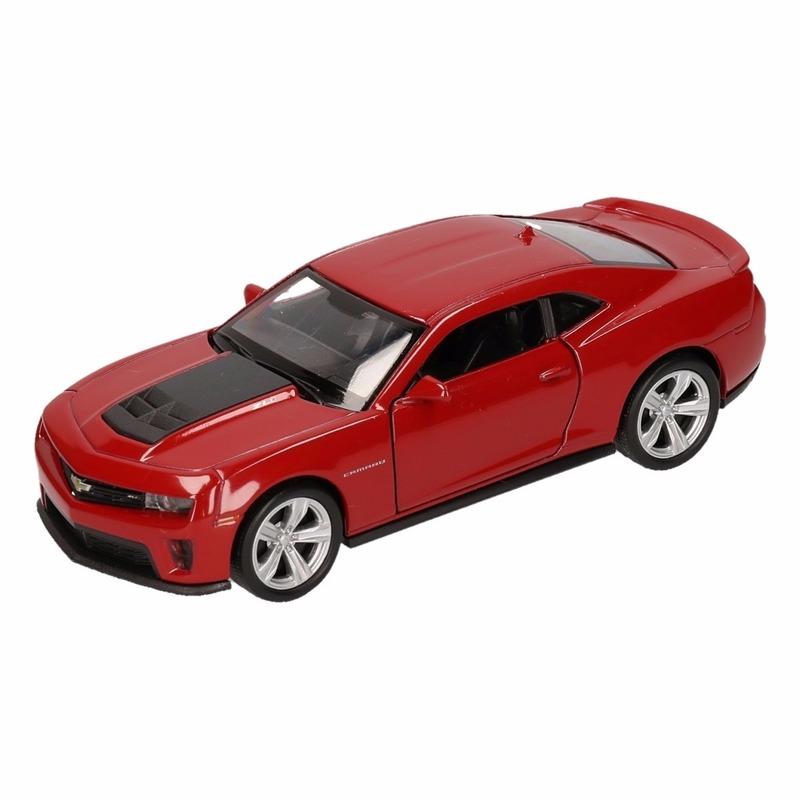 Speelgoed rode chevrolet camaro zl1 auto 1:36
