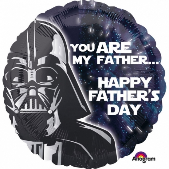 Star Wars vaderdag helium ballon 43cm