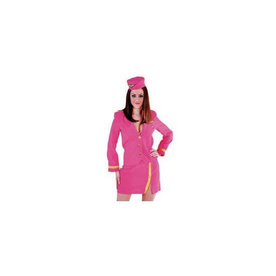 Carnavalskleding Beroepen kostuums Stewardessen kleding
