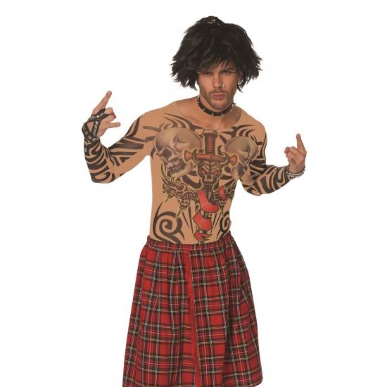 Carnavalskleding Funny kostuums Tattoo kleding