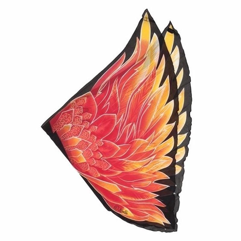 6811896e80893e Vlinder vleugels voor kinderen in oranje artikelen winkel Oranjeshopper