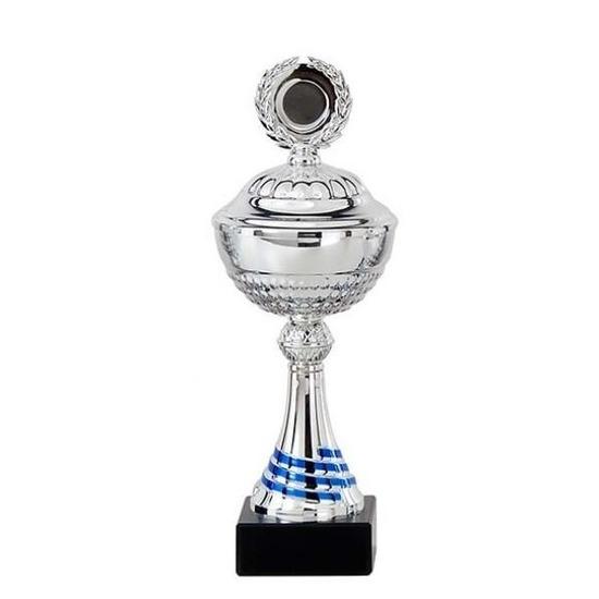 Zilveren trofee-prijs beker 23 cm